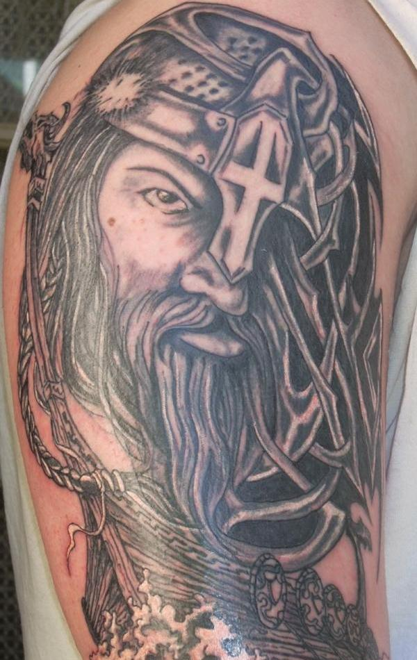 db81bc8c9 Viking Tattoos: 30 Majestic And Popular Examples - SloDive