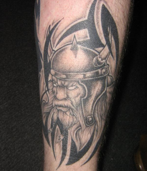 viking tattoo 30 Majestic Viking Tattoos
