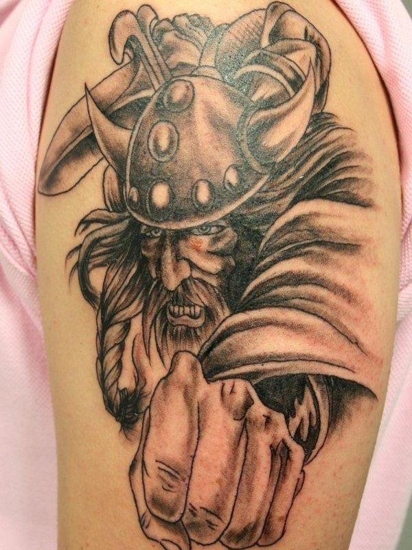 viking warrior tattoo 30 Majestic Viking Tattoos