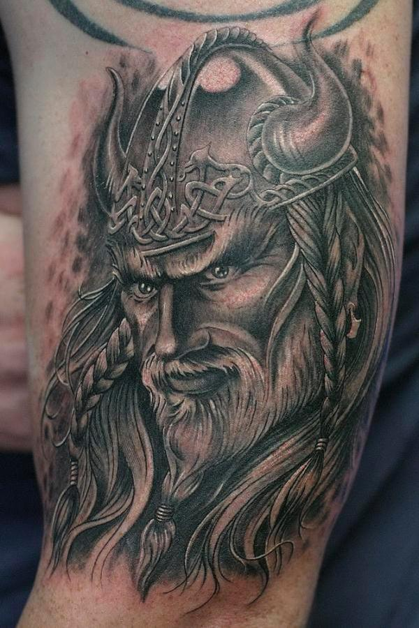 viking warrior 30 Majestic Viking Tattoos