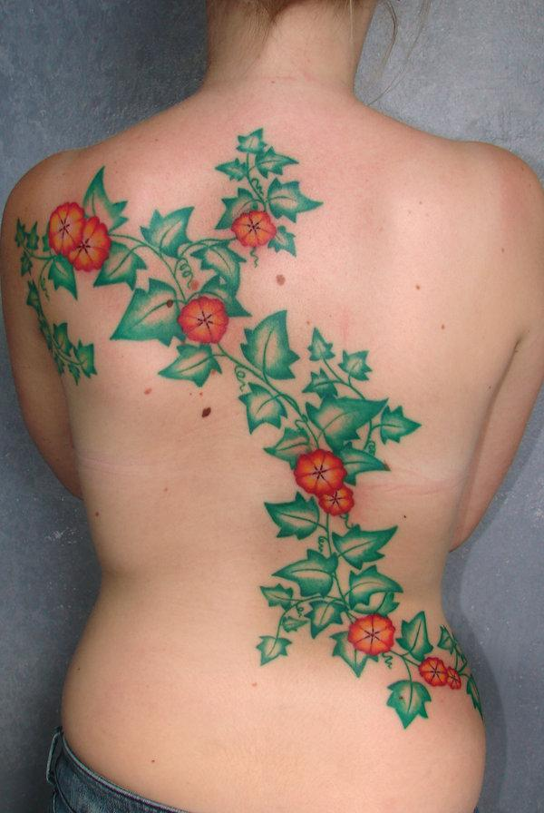 Vine Tattoos For Nature Lovers 30 Dazzling Examples Design Press