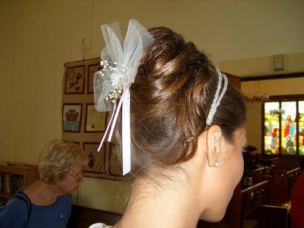 Caroline Wedding Updo