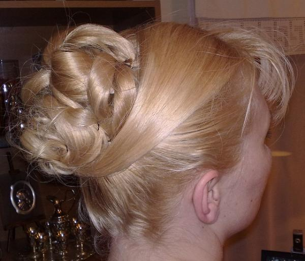 Formal Wedding Updo