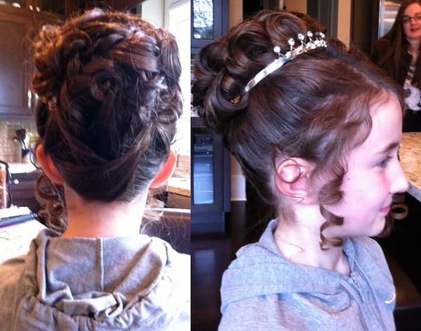 Girl Updo Conformation