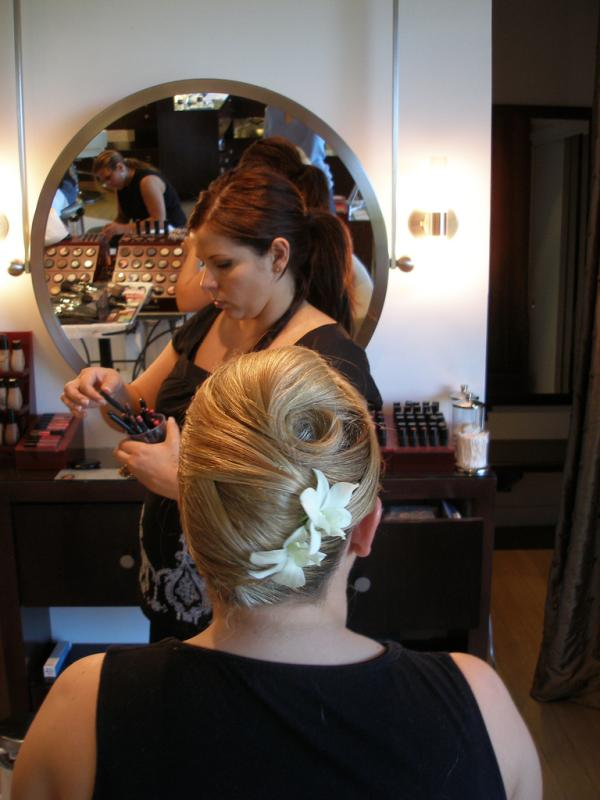 Wedding Floral Updo