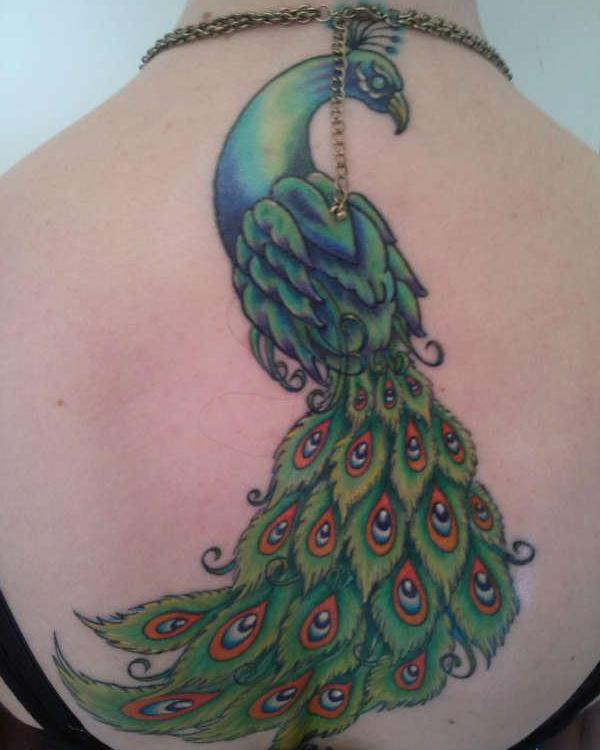 beautiful peacock 35 Beautiful Tattoos You Should Check Right Away