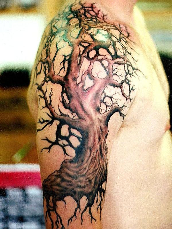 old tree tattoo 35 Beautiful Tattoos You Should Check Right Away