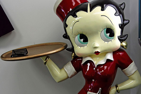 burger 35 Splendid Betty Boop Pictures