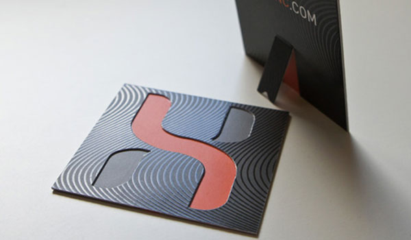 Business Card Helix