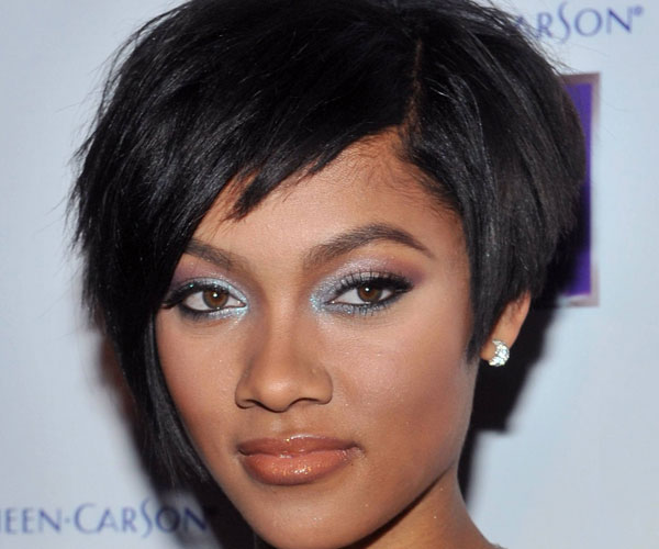 bria murphy 35 Awesome Black Short Hairstyles