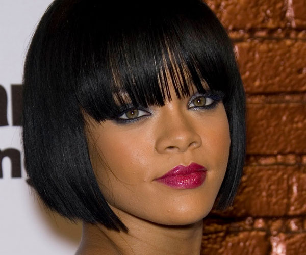 layered bob hairstyle 35 Awesome Black Short Hairstyles