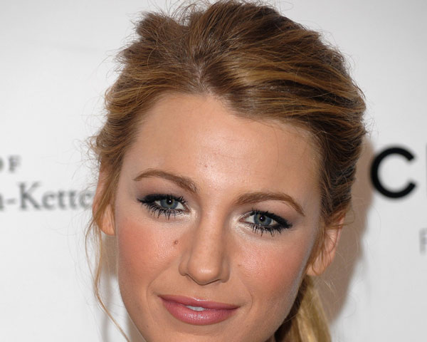 Blake Lively Highlighted Hair