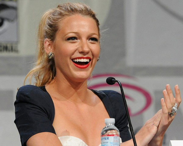 Blake Lively Updo Hair