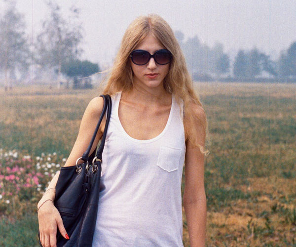 Blonde At The Meadow