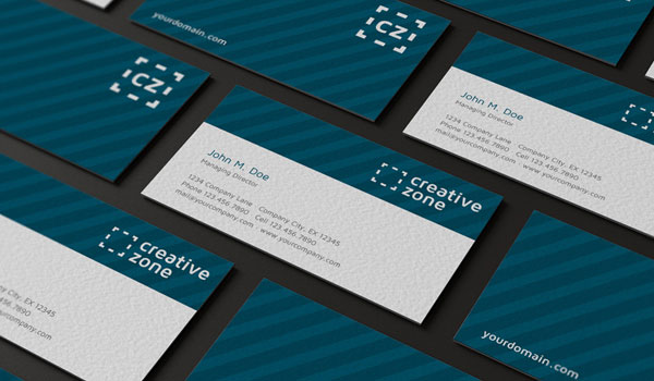 Creative Zone Business Card