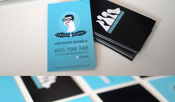 30 stunning blue business cards slodive illustration style card colourmoves