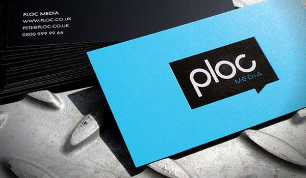 Ploc Media Business Card