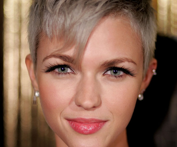 Ruby Rose Celebrity Hair Changes Really: 35 Striking Celebrity Short Hairstyles