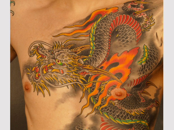 year of the dragon 25 Stunning Chinese Dragon Tattoo Designs