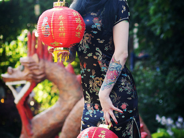 red lantern 40 Magnificent Chinese Tattoos