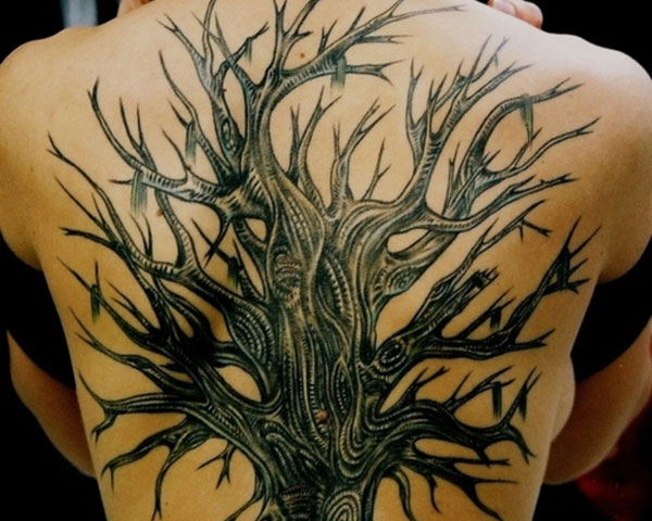 tree back 30 Cool Tattoos Pictures You Should Check Right Now