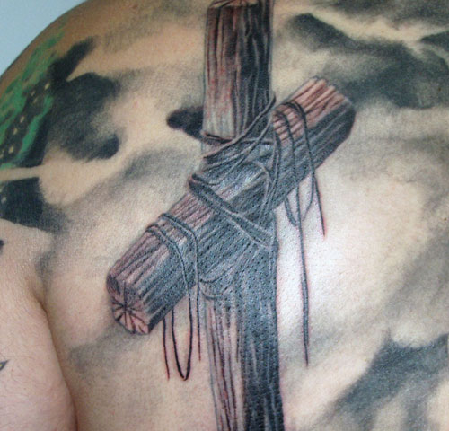 Old Cross Tattoo
