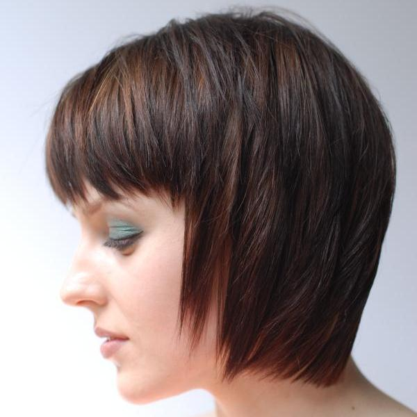 Stylish Haircuts Inverted Bob Haircut Design Press