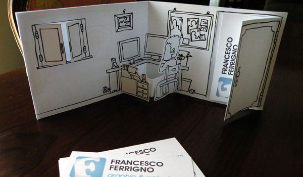 Francesco Ferrigno Business Card