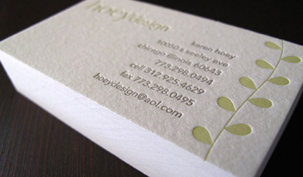 Hoey Design Business Card