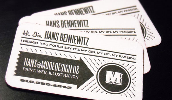 Mode Design Business Card