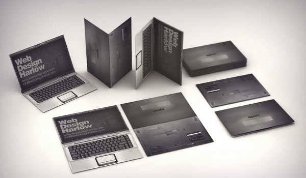 Notebook Business Card