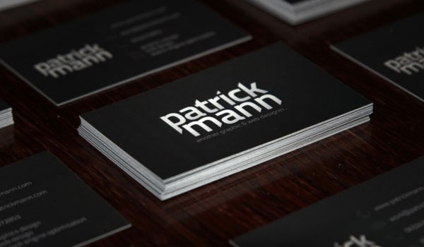 patrick mann 30 Awesome Designer Business Cards Part 2