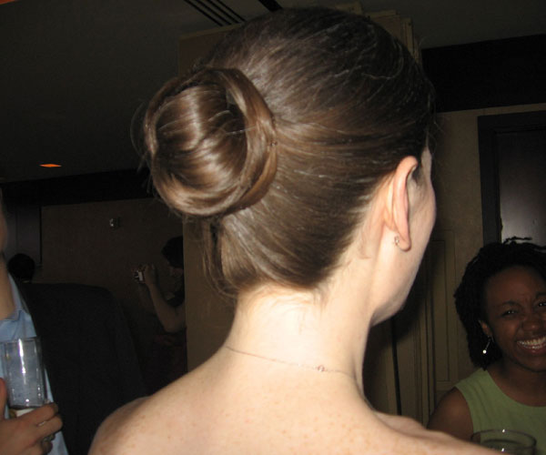 a simple bun 30 Breathtaking Easy To Do Hairstyles