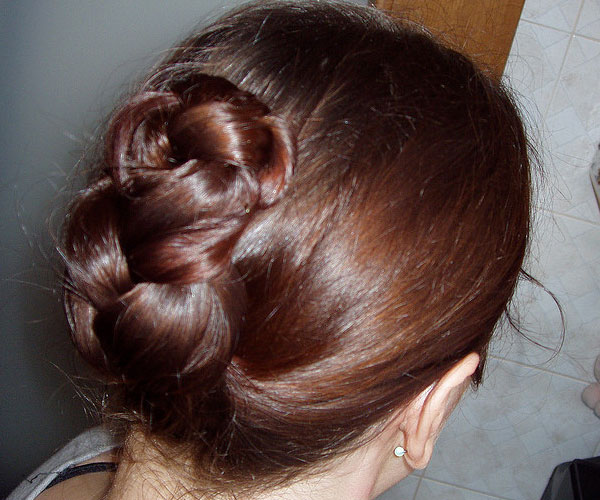 Folded English Braid