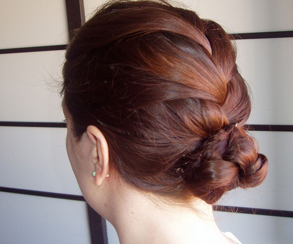 French Braided Bun