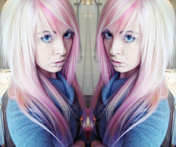copper blonde emo 45 Groovy Emo Hairstyles For Girls