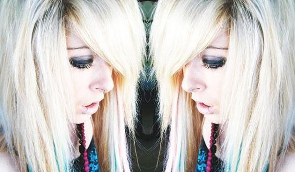 long blonde emo scene 45 Groovy Emo Hairstyles For Girls