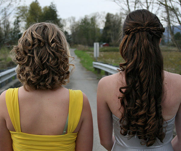 Fancy Prom Hair