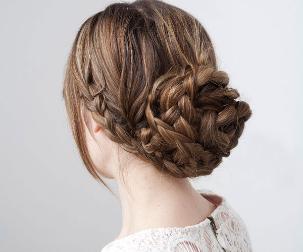Fancy Thick Hairstyle