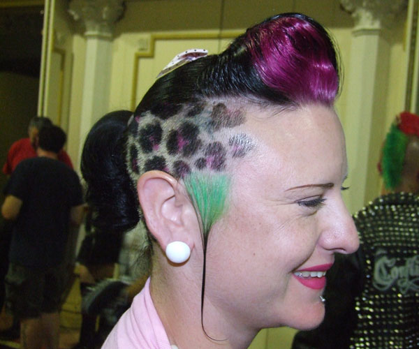Rockabilly Punk Hairstyle