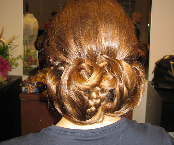 updo hairstyle 30 Fancy Hairstyles You Can Try Today