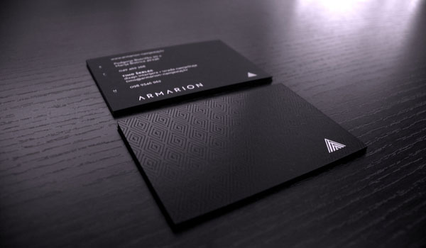 armarion 30 Fresh Business Cards For Your Inspiration