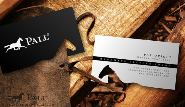 atelier pall leather goods 30 Fresh Business Cards For Your Inspiration