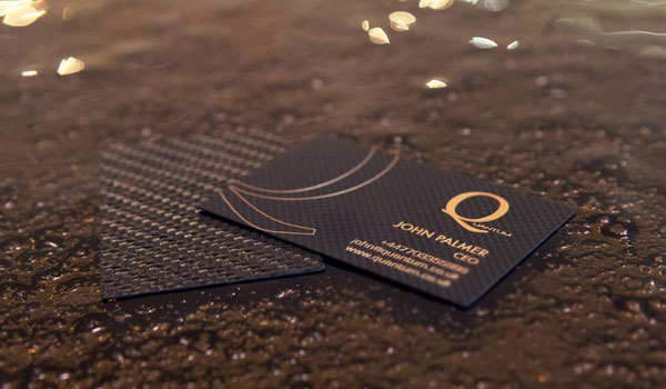 carbon fiber business cards 30 Fresh Business Cards For Your Inspiration