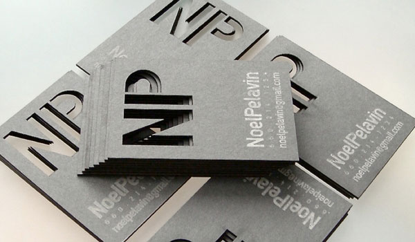 noel pelavin business card 30 Fresh Business Cards For Your Inspiration