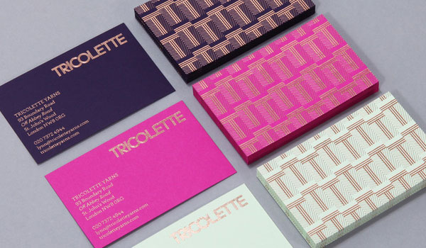 tricolette 30 Fresh Business Cards For Your Inspiration