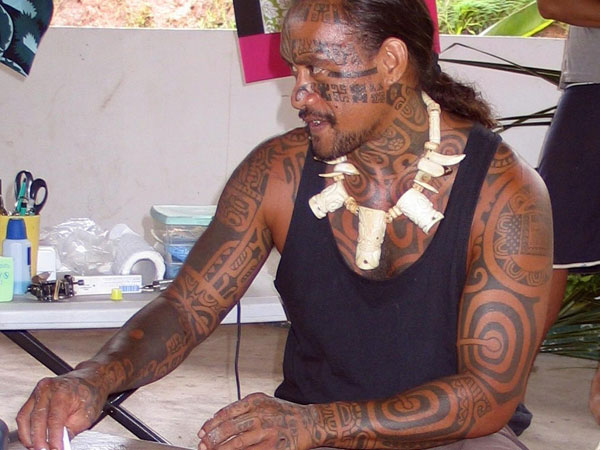 Samoan Full Body Tattoo