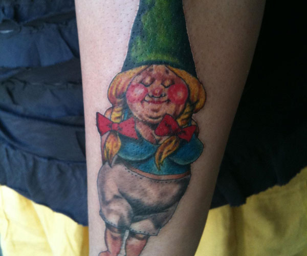 gnome pin up 20 Spectacular Gnome Tattoo Designs