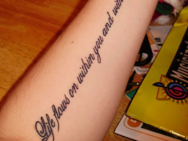beatles lyrics tattoo 30 Good Tattoo Quotes You Will Love To Engrave