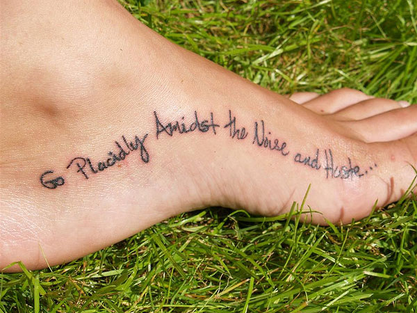 Good Tattoo Quotes You Will Love To Engrave 30 Designs Design Press